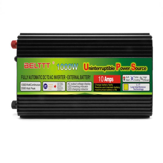 1000W DC12V to AC220V Hybrid UPS Power Inverter Transformer for Car Bicycle pictures & photos
