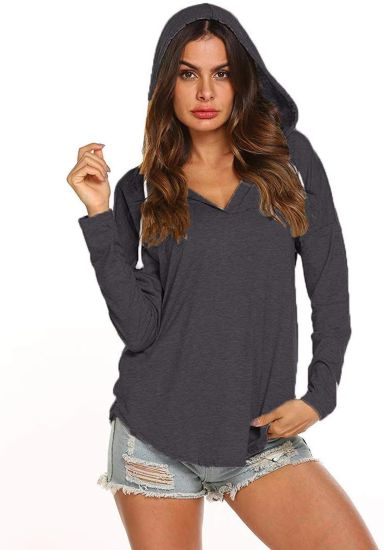 Six Colors Woman Pullover Lined Fashion Long Sleeve Thick Clothes