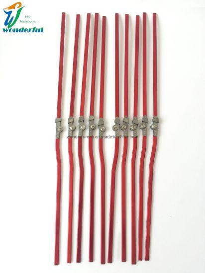 Red Aluminum Ring Lock Manufacturer Orthotics for Children