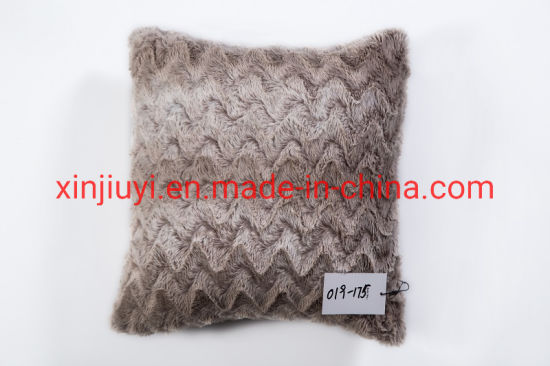 Super Soft Warm PV Plush Cushions (019-175)