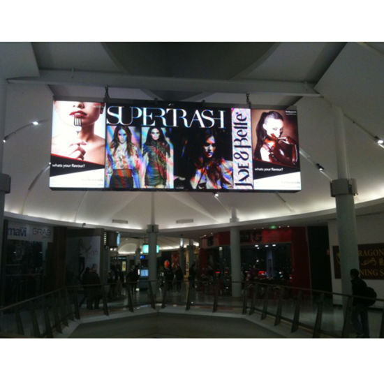 Shopping Mall LED Panel Offline Control HD P3 P4 SMD Chip Indoor Fixed LED Display