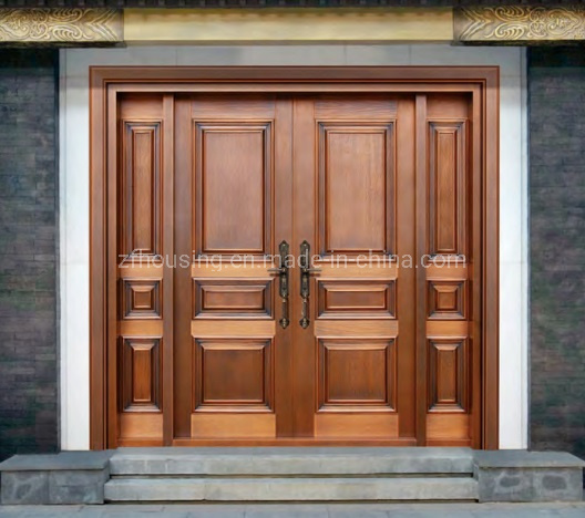 Modern Simple Copper Steel Security Door for Nigeria Family Home Zf-Ds-030