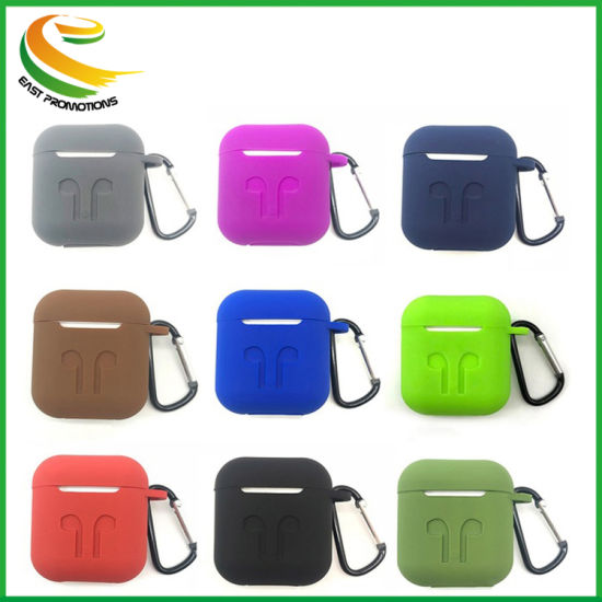 for Air Pods Universal Shock Proof Protective Cover Silicone Protective Case for Apple Airpod Charging Case Cover