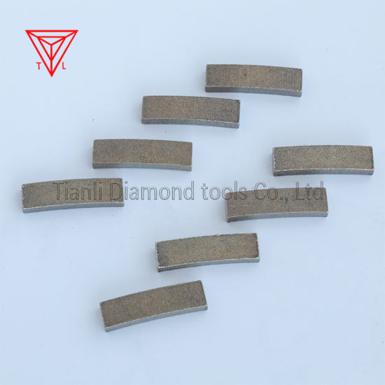 Sharp Diamond Saw Blade Cutting Tools Segments for Mining Rock Cutting Marble