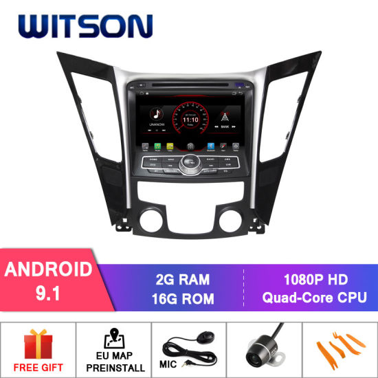 China Witson Quad-Core Android 9 1 Car DVD Player for Hyundai Sonata