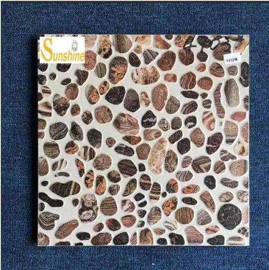 Hot Selling Non Slip Outdoor Decorative Glazed Inkjet Rustic Tile