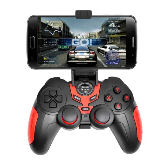 Blue Tooth Wireless Gamepad Gaming Controllers Joystick for Ios Android Mobile Phones pictures & photos