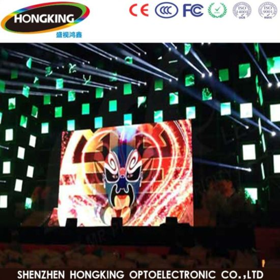 High Refresh HD P2.5 4K Indoor Stage Background Wall