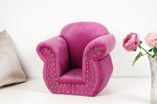 Fine Purple Sofa Fabric Upholstery Fabric