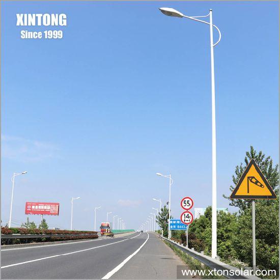 3m Traffic Reflective LED Solar Street Light Lamp Post Pole Adapter