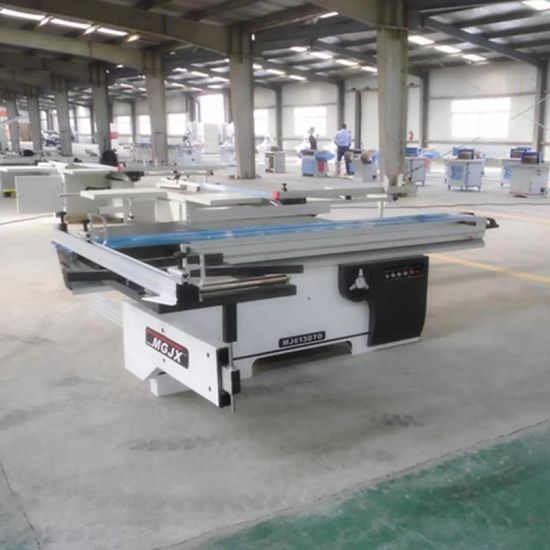 3.2m Woodworking Machine Cutting Machine Electric Lift Precision Sliding Table Panel Saw
