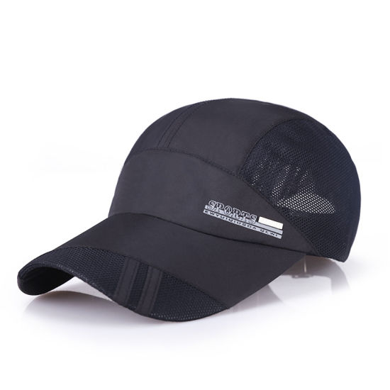 Plain Leisure Outdoor Sports Baseball Cap Mesh Cap