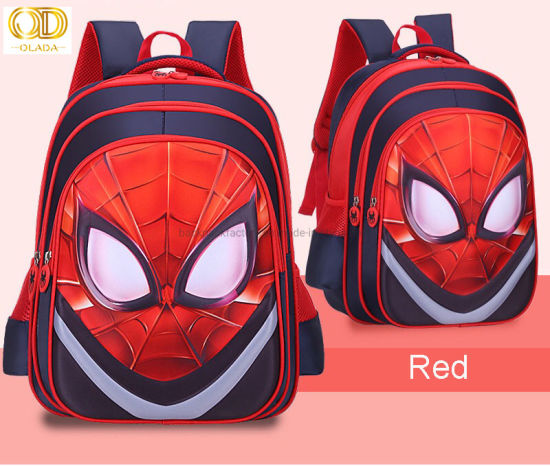 Spiderman Backpack for Boys Junior School Bag Kids Spider Man Marvel...