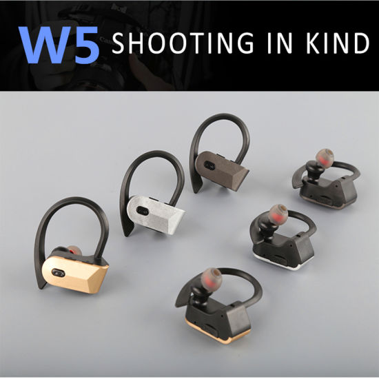 W5-Tws Bluetooth Headset Wireless Earphone Sports Headphone Stereo Earbuds for Mobile Phone