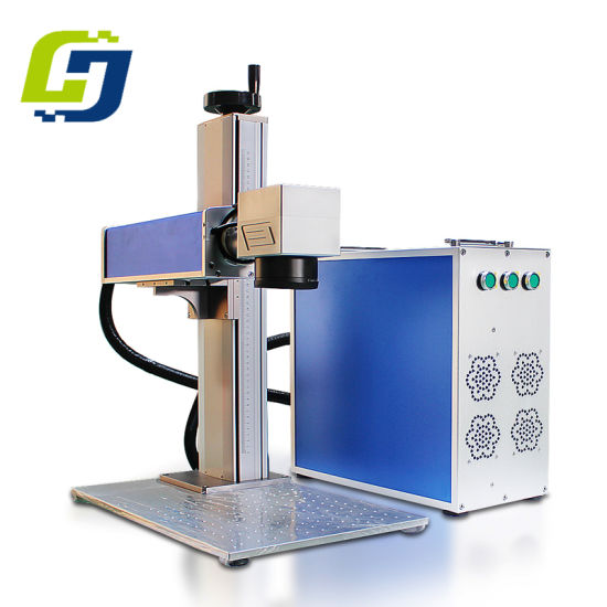 Galvo Scanners Mini Portable Laser Marking Machine for Greeting Card pictures & photos