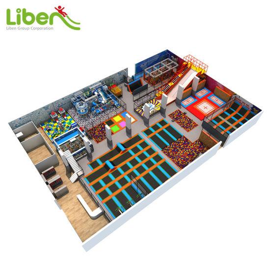 Liben Playground Children Commercial Amusement Park Indoor Playground Equipment