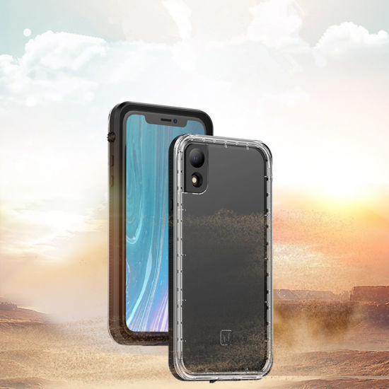 IP68 Waterproof Cover For IPhone XS MAX Case Metal Shockproof Hard