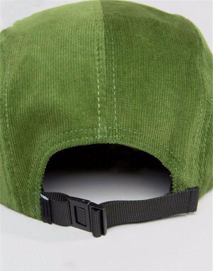 Fashionable 100% Cotton Structured Snapback Cap Sport Hat