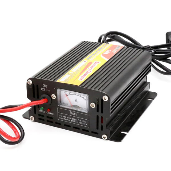 12V 10A Smart Car Battery Charger with Multiple Safety Protection Functions