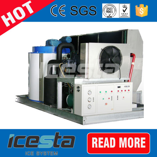 Flake Ice Machine for Industry Aquatic Food Meat Prodct Leather Processing etc
