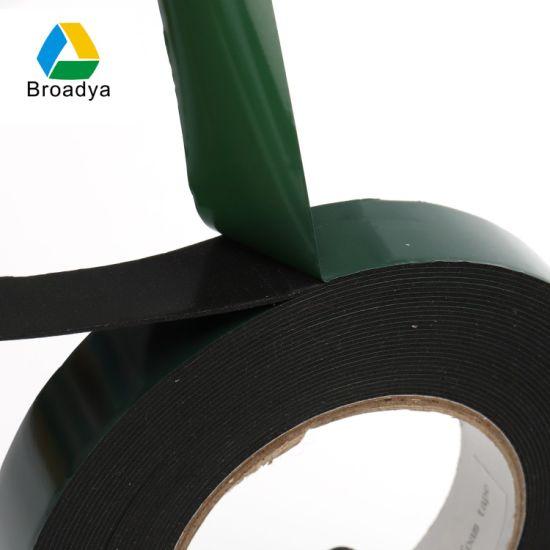 Double Sided PE Foam Jumbo Rolls Adhesive Tape (BY1010)