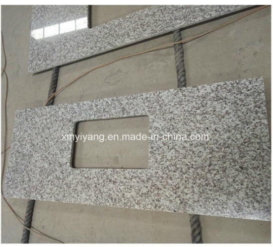 G439 White Big Flower Granite Countertop for Kitchen/Bathroom/Countertop/Islands pictures & photos