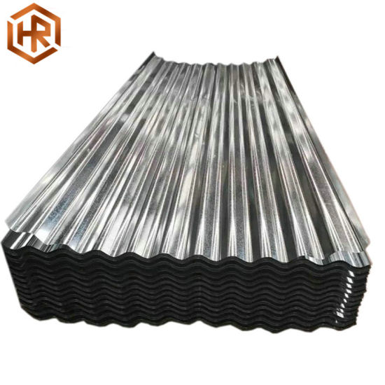 Rustproof Regular Spangle Hot Dipped Galvanized 60g Corrugated Gi Sheet