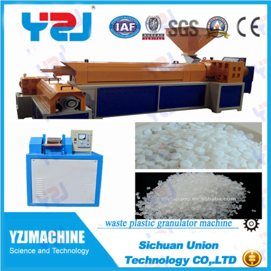 New Waste Plastic Recycling Granules Pelletizer Machines pictures & photos