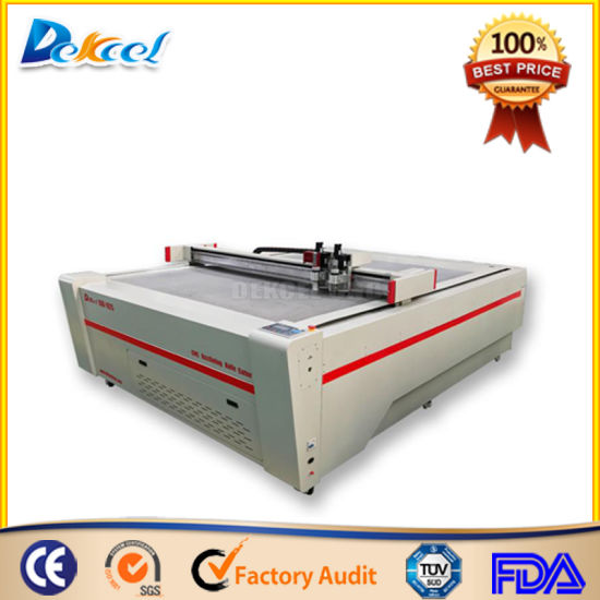 Oscillating Knife Cutting Machine Cutter for Foam, EVA, Carboard, Plotter pictures & photos