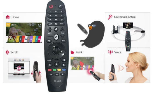 Sr-600/650 Hot Selling Remote Control for Universal Control