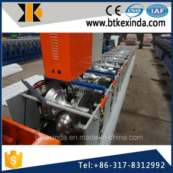 Kxd 312 Color Steel Ridge Cap Roofing Sheet Roll Forming Machine pictures & photos