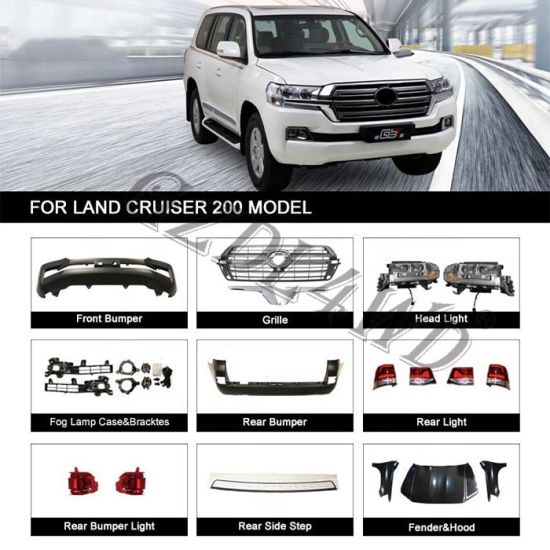 Toyota Land Cruiser Fj200 Conversation Repair Body Kit