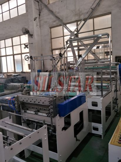 Double Fold (fold fold/C-fold) Plastic Bag Making Machine pictures & photos
