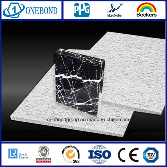 Outdoor Wall Cladding for Stone Aluminum Honeycomb Panel