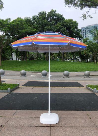 2m Hi-Value Sun Block Beach Parasol with New Design (OCT-19009)