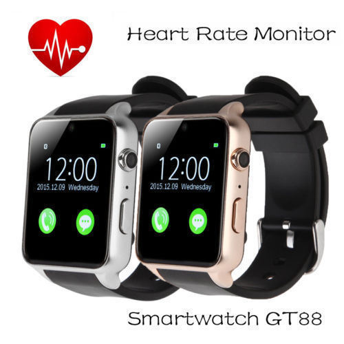Smart Watch, Mindkoo Gt88 Waterproof IP57 NFC Bluetooth Connectivity Sports Activity with Heart Rate Monitor Magnetic Charging Health Exercise Fitness Tracker pictures & photos