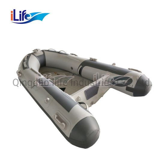 China Ilife Best Quality Pontoon Welded Aluminum Boats For