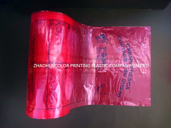 LDPE Flat on Roll for Meat Packing / Plastic Bag / Produce Bag