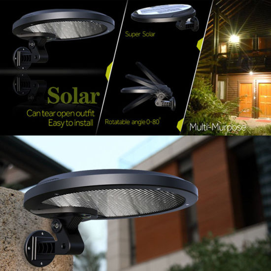 Rotable Angle IP65 Waterproof 56LED 5W PIR Motion Sensor Solar Lamp Outdoor pictures & photos