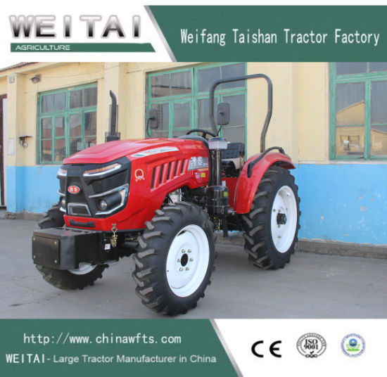 4 Wheel 70HP Weitai Agriculturel Tractor for Sale