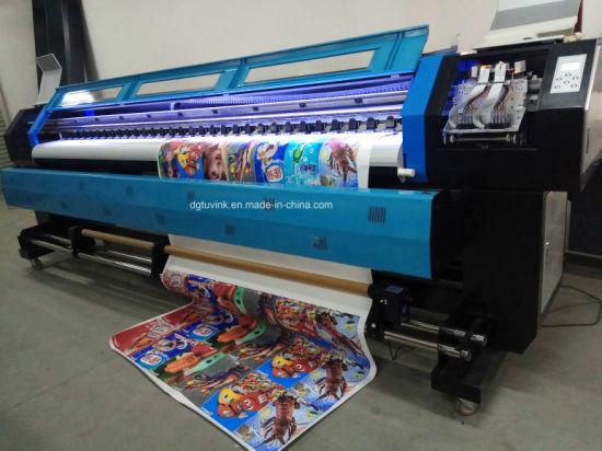 32m Indoor Outdoor Advertisement Ditial Large Format Printing Machine