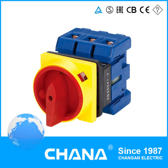 CE and RoHS Approved Lw30 Series Changeover Switch