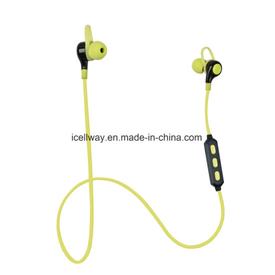 Necklace Handsfree Sport Bluetooth Earphones with Microphone pictures & photos