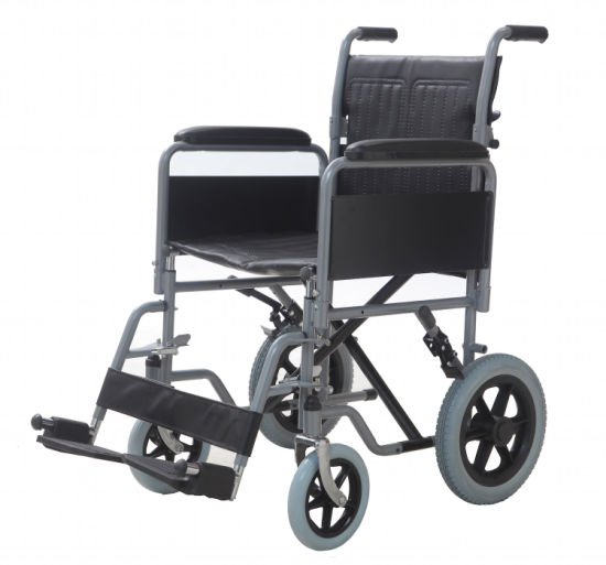Light Weight Foldable Aluminum Electric Wheelchair for Elderly and Disabled People