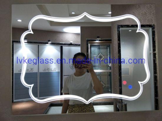 Hotel Bathroom Mirror Fog Free LED Light Mirror