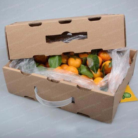 Custom Corrugated Paper Packing Fruit Shipping Box pictures & photos