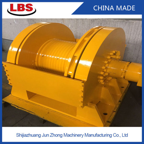15 Ton Hydraulic Crane Winch with Lebus Grooved Drum