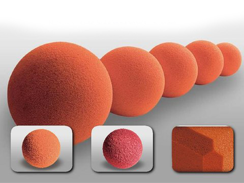 Concrete Pumps Accessories Cleaning Sponge Balls for Cleaning Pipes