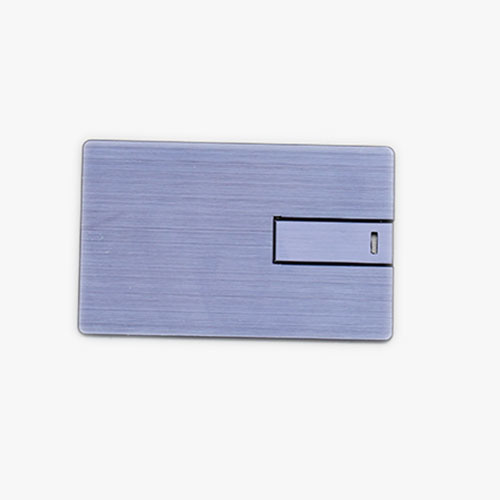 Metal Card USB Flash Drive Double-Sided Color Printing Fashion Hardware Card 256GB pictures & photos