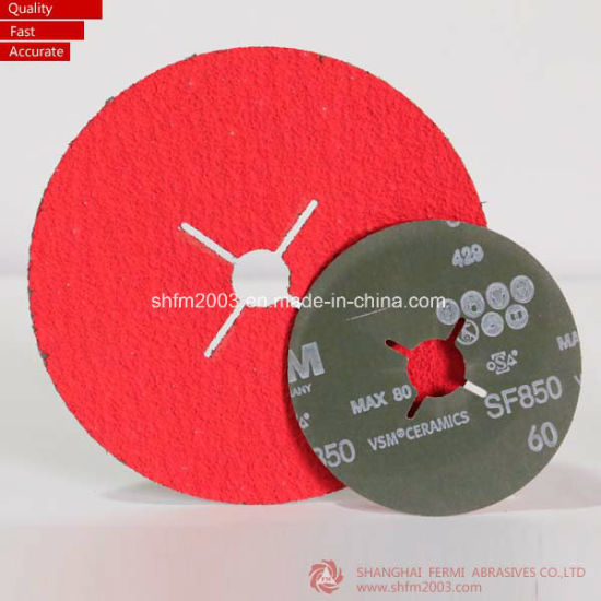 125mm, Zirconia & Aluminum Oxide Abrasives Sanding Disc with Circle Hole pictures & photos